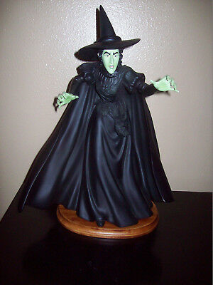 WICKED WITCH WIZARD OF OZ  MUSIC BOX San Francisco Music Box RETIRED