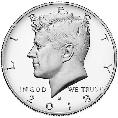 2018-S Silver 50C DC (Proof) Kennedy Half Dollar Deep Cameo Presale
