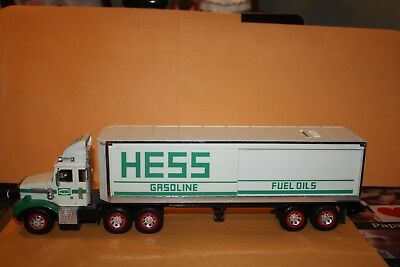1987 Hess Toy Truck With Barrels