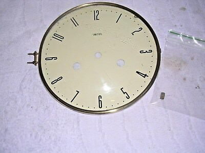 Clock  Parts, Bezel  With Face, Smiths