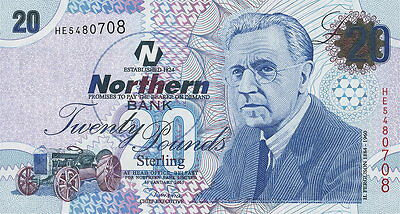 Nordirland / Northern Ireland 20 Pfund 2005 Pick 207 (1)
