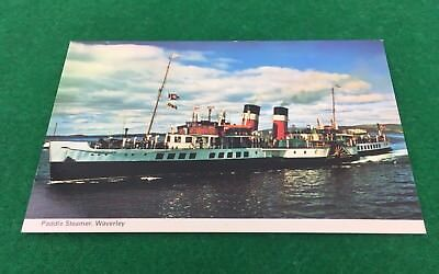 Waverley Paddle Steamer Ship UnPosted RP Postcard