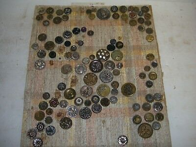 Large Collection Of Victorian And Antique Buttons