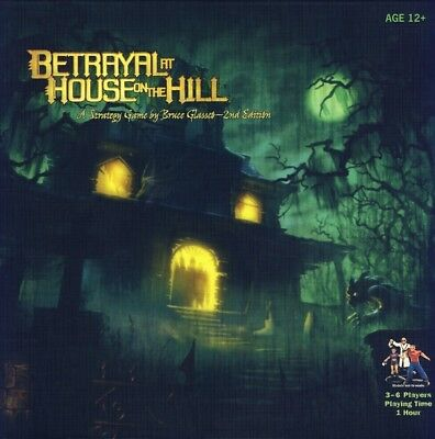 Betrayal at House on the Hill - Board Game - New - FREE FAST SHIPPING