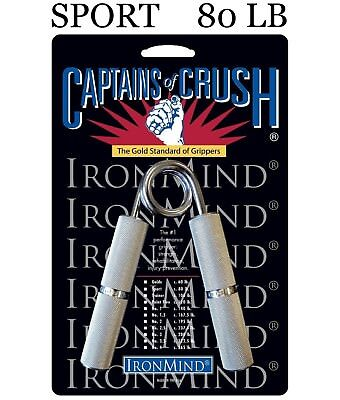 IronMind Captains of Crush CoC Hand Grippers - 80 lb Sport Gripper - BEST VALUE