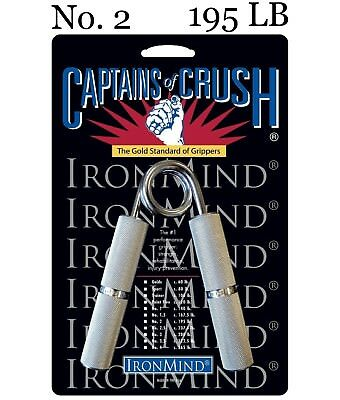 IronMind - Captains of Crush CoC Hand Grippers - No. 2 - 195 lb - BEST VALUE