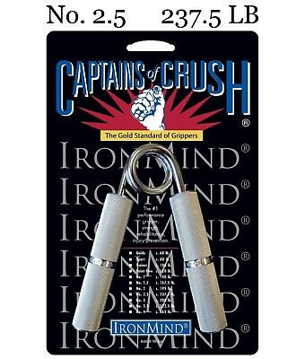 IronMind - Captains of Crush CoC Hand Grippers - No. 2.5 - 237.5 lb - BEST VALUE