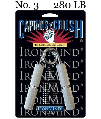 IronMind - Captains of Crush CoC Hand Gripper - No. 3 - 280 lb - BEST VALUE