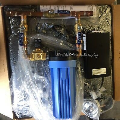 "Water Bypass Filter System 3/4"" w/ Solenoid & Low Voltage Panel Box by JDS"