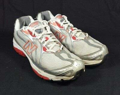 a4513dfac9c7f NEW BALANCE 645 Womens Sz 10 Running Training Sneakers Shoes White Silver