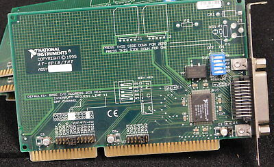 Ni National Instruments AT-GPIB/TNT 181830F-01 ISA  IEEE-488.2  Card,    3 for 1