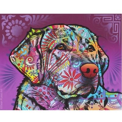 "Soul Eyed Labrador Print 8""x 10"" by Dean Russo DISCONTINUED - Ships Free"