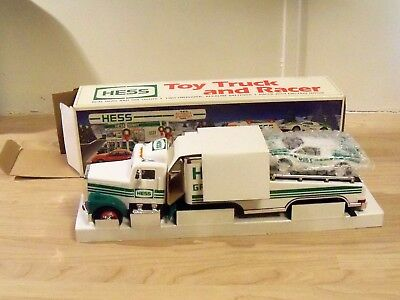 1991 Hess Toy Truck and Racer - New, In Box