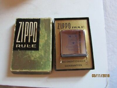 French Paper Company 6' Tape Measure w/Box Made by Zippo USA