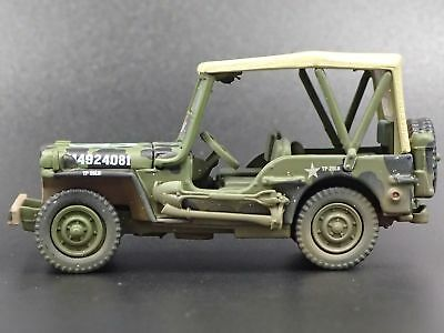 Wwii Willys Mb Jeep Army Military Dirty Rare 1:64 Collectible Diecast Model Car