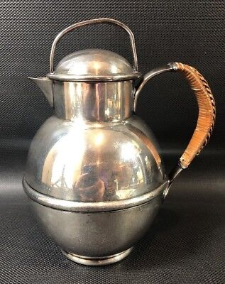Meriden Britannia Co Silverplate Small Jug With Wrapped Handle 9J