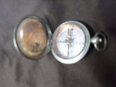 Antique WW1 USANITE Compass 1918 Military Eng. Dept. U.S.A. 1918 Made by Taylor