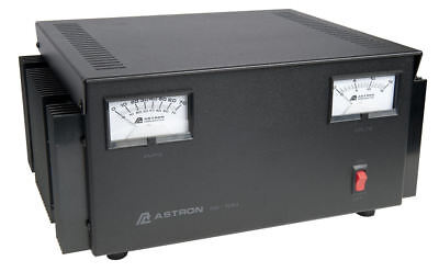 Astron RS-70M Table Top 70 Amp Regulated DC Power Supply w/ Dual Meters