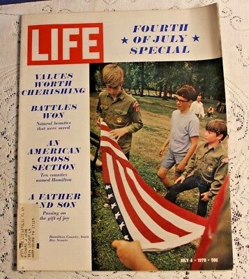 Vintage Life Magazine July 4 1970 Fourth of July Special