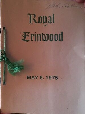 1975 Royal Erinwood Holstein Cattle Consignment Sale Catalog