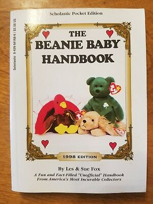 The Beanie Baby Handbook: 1998 Edition Price Guide By Sue Fox & Les Fox Used