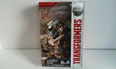 Transformers The Last Knight DINOBOT SLUG Deluxe Class Premier Edition Figure