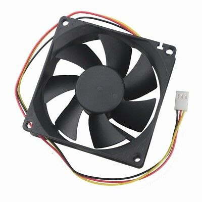 Wholesale 10pcs 12V 3PIN 80X25MM 80MM Brushless Computer Industry Cooling Fan