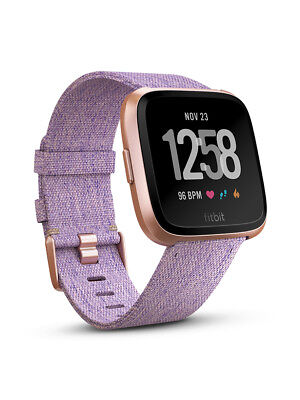 New Fitbit Versa Lavender Woven Special Edition Preorder For Early May