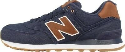 super popular 420e0 475d6 NEW BALANCE MEN 574 15 Ounce Canvas ML574TXB Lifestyle Classic Sneaker  Shoes 18
