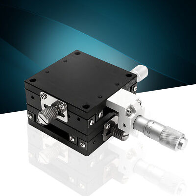 XY-Axis XY Stages Linear Stage 60x60mm Ball Bearing Precision Manually Platform