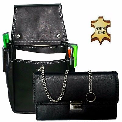 Pro Server Set Real Leather Kellnerbedienungs Wallet Holster Pouch Waiter's