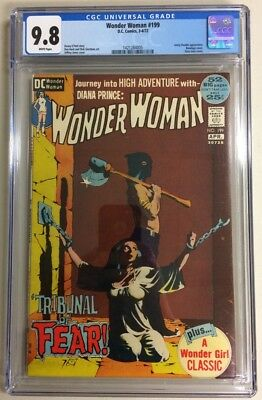 Wonder Woman #199 CGC 9.8 NM/MINT w/ White pages!
