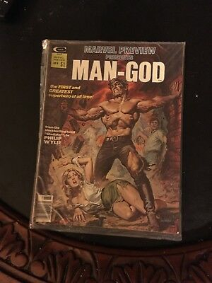 Marvel Preview Presents Man-God Issue 9