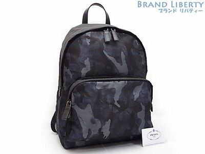 9f904bd62b59 AUTHENTIC PRADA CAMOUFLAGE Nylon Backpack 2VZ066 -  905.00