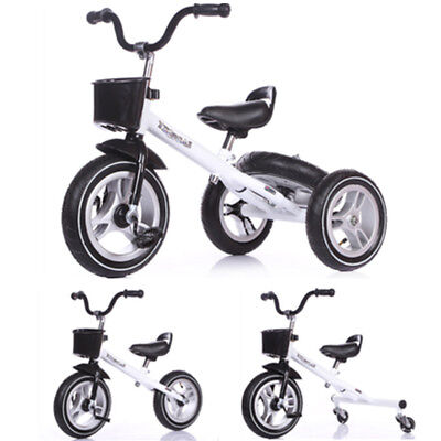 Multi-purpose Tricycle Child Kids Baby Toddler Smart Ride On Trike Bike Bicycle