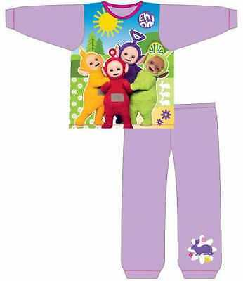 TELETUBBIES LICENSED PYJAMA SET, SIZES 18 months to 4 years, AUTHENTIC NEW