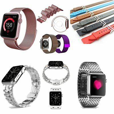 Milanese Stainless Steel Strap Nylon Buckle Watch Band for Apple Watch EU