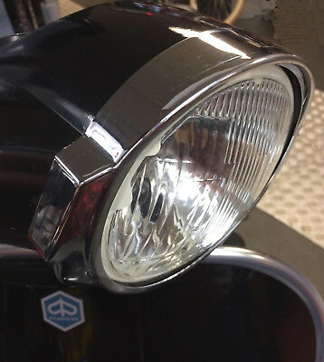 Head light / front lamp rim cover chrome round for Vespa PX / LML Star
