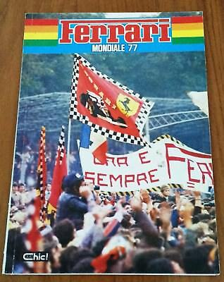 very rare official Annuario Yearbook Ferrari 1977 F1 Lauda Enzo Ferrari message