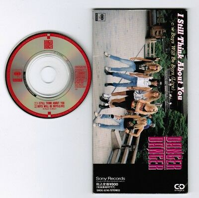 "DANGER DANGER I Still Think About You JAPAN 3"" CD SRDS8216 Unsnapped/Unfolded"