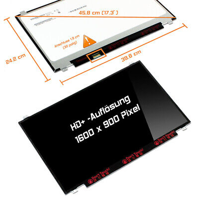 "17,3"" LED Display glossy 1600x900 WXGA++ HD+ Lenovo IdeaPad 110-17IKB"