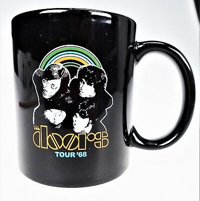 The Doors Tour 1968 Reproduction Coffee Cup Tea Mug Retro Rock Band