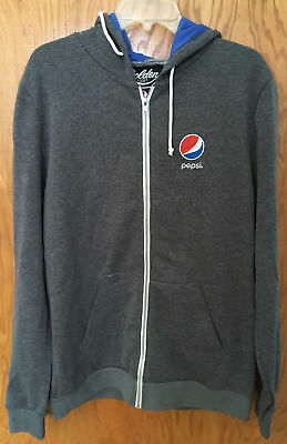 NEW Pepsi-Cola zip-up Hoodie/Sweatshirt Size XL - Golden Goods USA