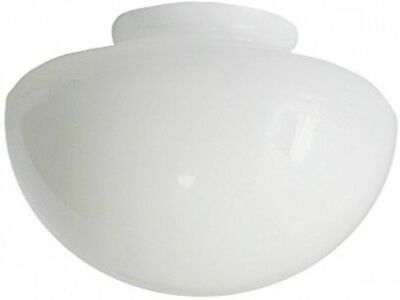 white glass ceiling fan lampshade fits b and q twister and