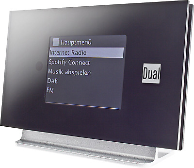 Dual Radio Station IR 3A Internet Radio-Adapter Bluetooth® DLNA-fähig, Spotify S