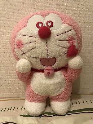 Sakura Doraemon BIG Plush Doll 2018 Pink From Japan