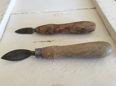 Vintage Fruit Pitter Kitchen Tools/Utensils Set of Two