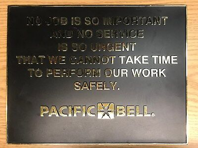 Bell System Pacific Bell Safety Creed