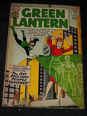 DC Comics Silver Age GREEN LANTERN VOLUME 2 ISSUE 7 AUGUST 1961
