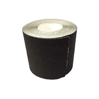 "6"" x 20' BLACK Roll Safety Non Skid Tape Anti Slip Tape Sticker Grip Safe Grit"